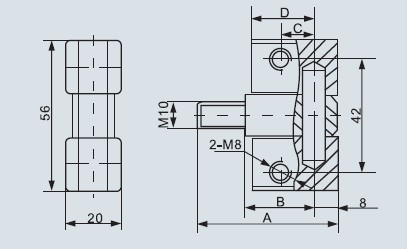 高压柜门铰链 gjl1-海磁电器